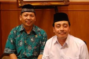 Ketua DPD LDII Surabaya Bersama KH. Mutawakkil Alallah
