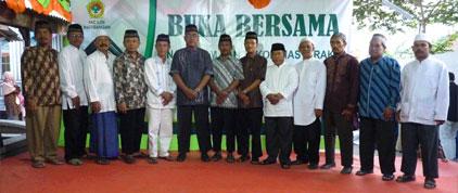 Pengurus LDII dengan Pejabat Setempat