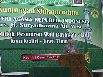 Menteri Agama RI Silaturrahim ke Pondok LDII