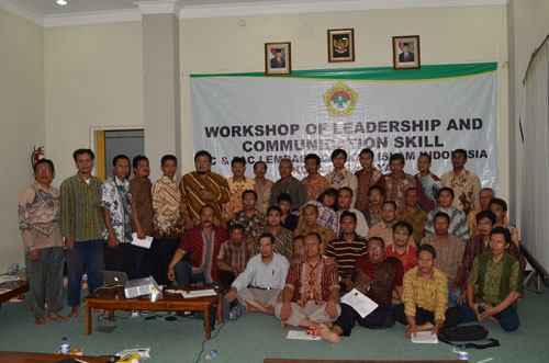 Workshop Leadership and Communication Skill PC & PAC LDII Surabaya