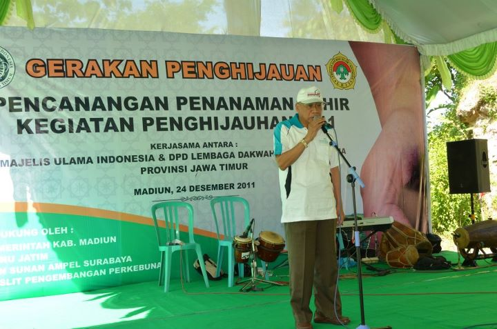 Puncak Acara Gerakan Penghijauan LDII 2011