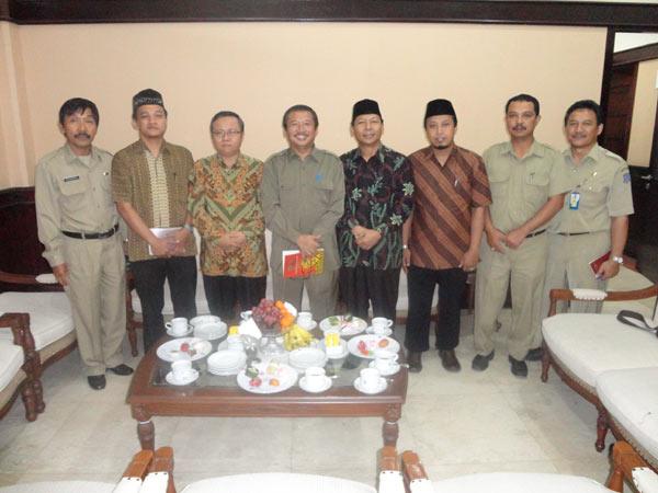DPD LDII Kota Surabaya Audiensi dengan Wakil Walikota