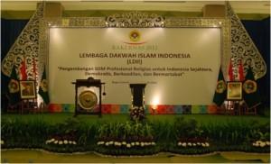 Ruang Utama Rakernas LDII 2012