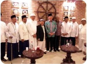 Ketum LDII Bersama Rombongan Amirul Haj Indonesia