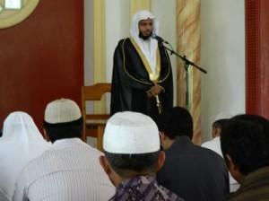 Syaikh Sulaiman Fifi Mekah Mengisi Pengajian di Pondok LDII