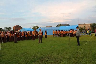 Mengisi Liburan Sekolah, LDII Surabaya Barat Gelar Jambore Pramuka