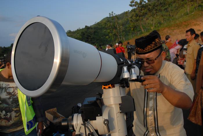 Tim Pengamat Hilal DPP LDII Di Pusat Observasi Bulan Kemenag