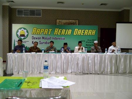 Jelang Ramadhan DMI Surabaya Gelar Rakerda