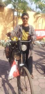 Asmoro salah satu peserta LDII Fun Bike