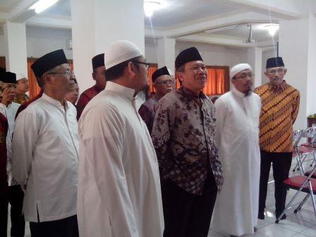 Prof Syafiq A Mughni Berkunjung Di Pondok LDII Wali Barokah Kediri