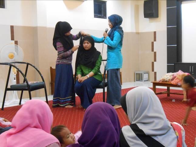 Cara Hijab Syar'i Dan Tetap Modis LDII PC Sukolilo Surabaya