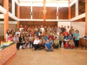 Foto LDII dengan FKUB Surabaya di Acara FGD Trawas