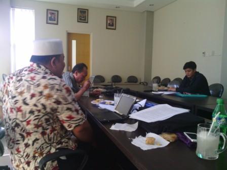LDII Menerima Peneliti Universitas Brawijaya Malang