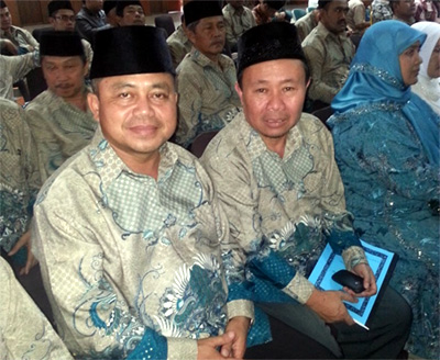 DPD LDII Kab. Bandung Menjadi Pengurus MUI Bandung