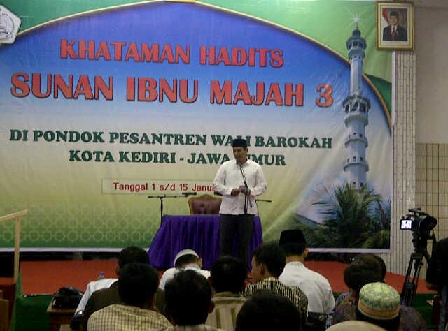 Pembukaan khataman hadist sunan ibnu majah 3 oleh walikota Kediri H. Abdullah Abubakar