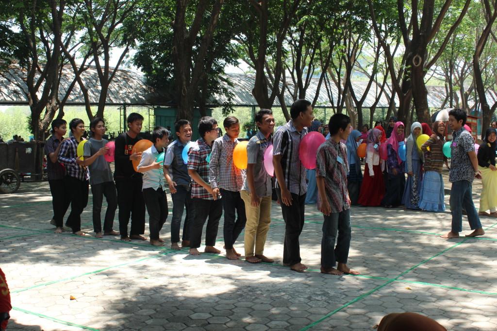 Keakraban Remaja LDII Di Lokasi Outbond Kenjeran Surabaya