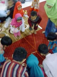 Kegiatan BCM (Bermain Cerita Menyanyi) TPQ Luhur Al-Ikhlas