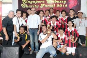 ldii juara 1 futsal singapore turnamen