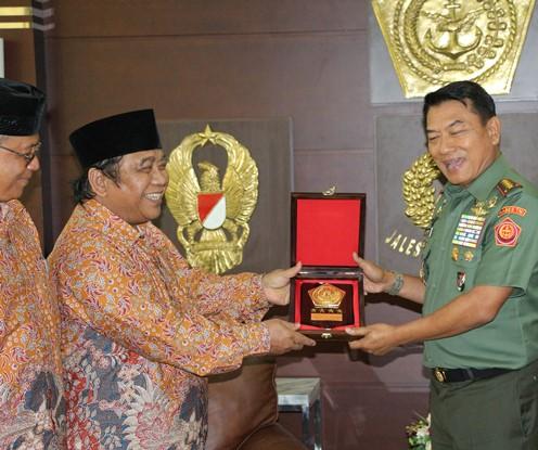 Apresiasi Panglima TNI Jenderal Moeldoko Terhadap Ormas LDII