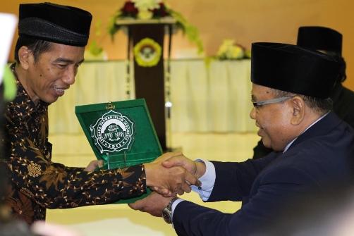 Kenang-Kenangan Dari LDII untuk Jokowi