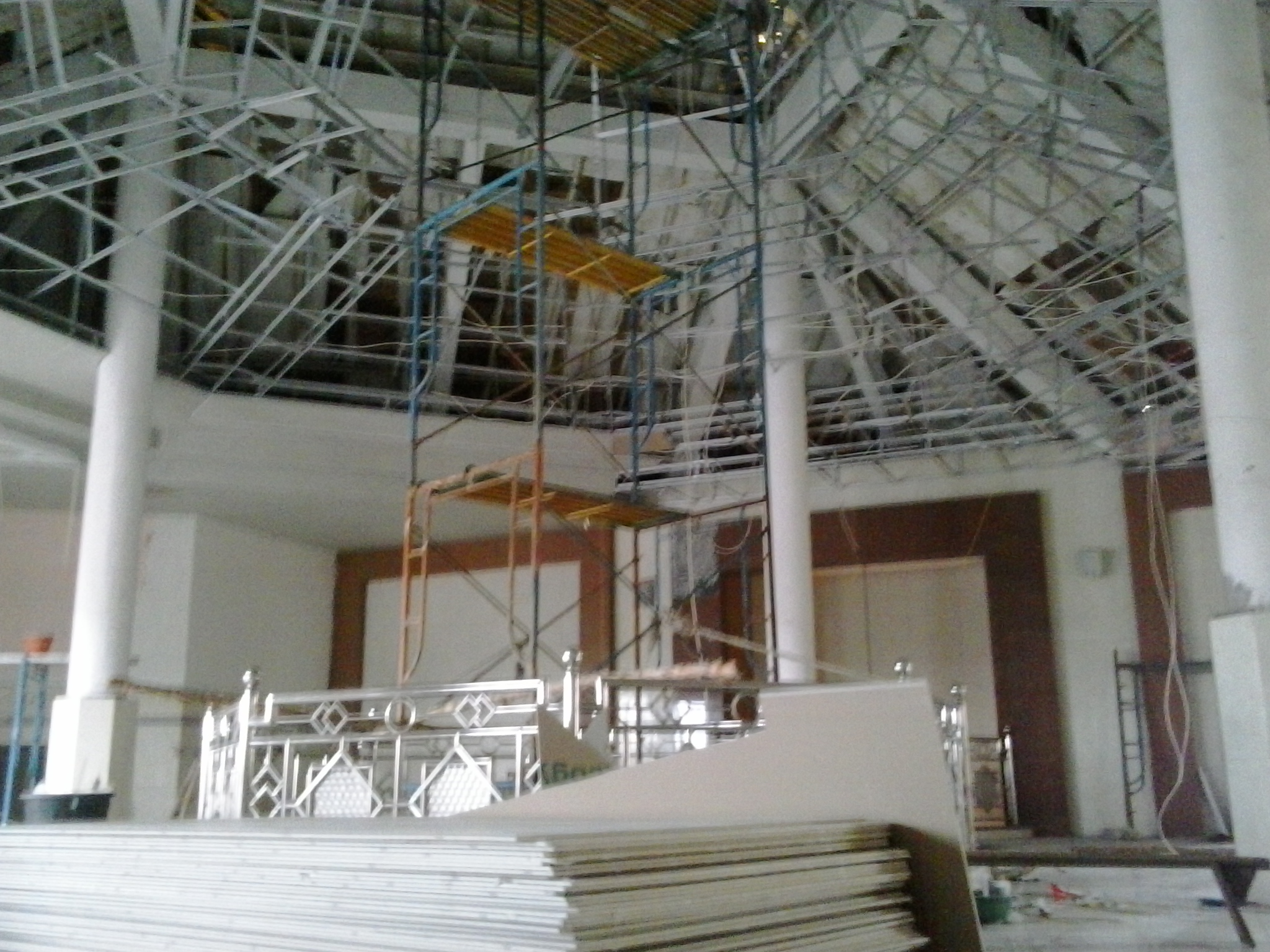 Renovasi Pembangunan Masjid LDII Semampir Lantai 2