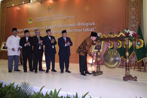Menteri Agama Surya Dharma Ali Membuka Rapimnas LDII 2014