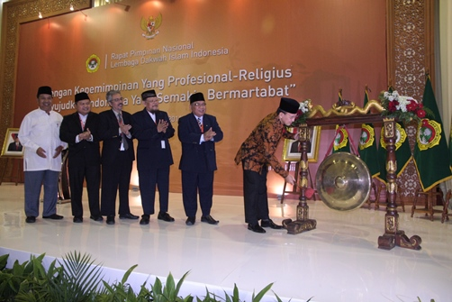 Menteri Agama Buka Rapimnas LDII 2014