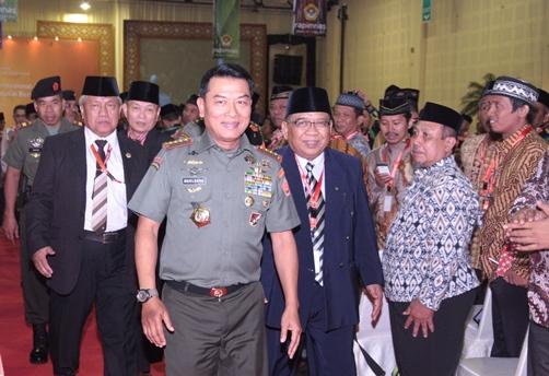 Panglima TNI Jendral Moeldoko di Rapimnas LDII 2014