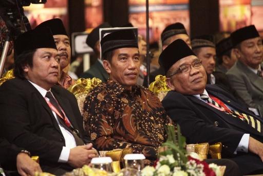 Jokowi Tak Mau Kalah Hadiri Rapimnas LDII
