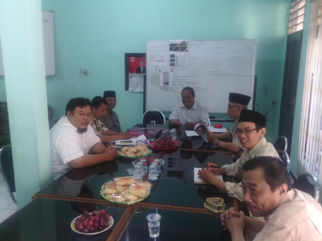 LDII Audiensi dengan FKUB Surabaya