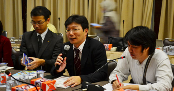 Pembicara Dari Perusahaan KA - Nankai Osaka Jepang