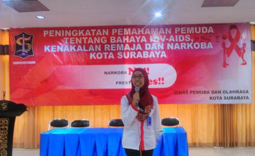 BNN Mengisi Seminar Tentang Bahaya HIV-AIDS dan Narkoba