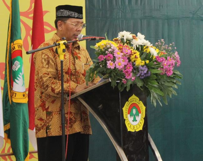 Sambutan Ketua DPD LDII kota Surabaya Drs. Ec. H. M. Amien Adhy