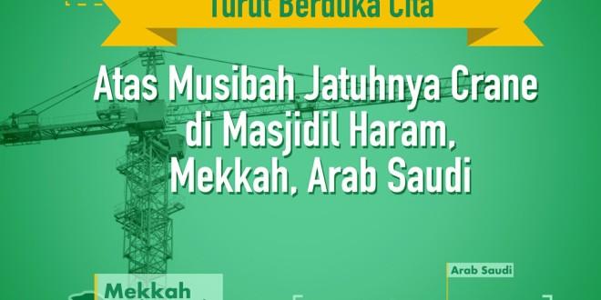 Bela Sungkawa LDII Atas Musibah Jatuhnya Crane Di Masjidil Haram