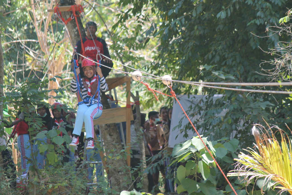outbond flying fox