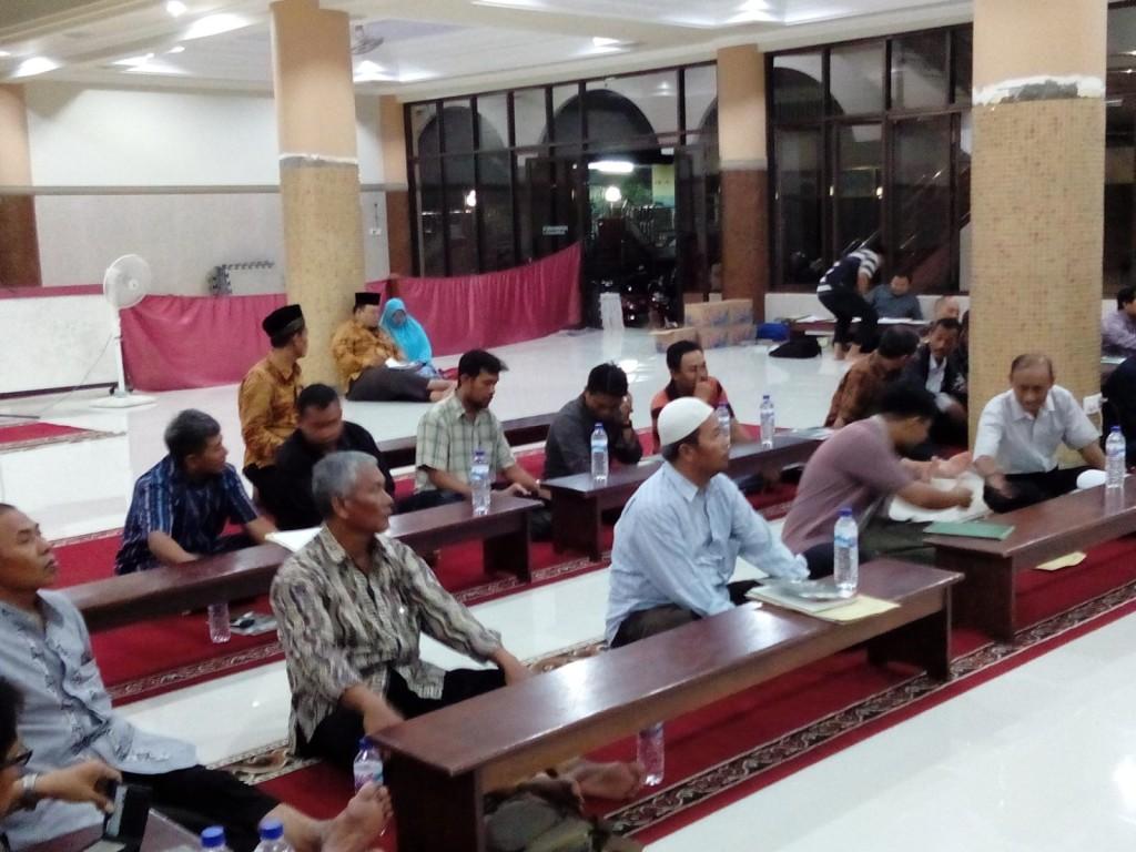 Pembekalan pengurus PC dan PAC LDII Korda Surabaya Utara masa bakti 2015-2020.