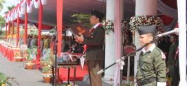 LDII Hadiri Upacara Hari Pahlawan ke-70 di Balai Kota Surabaya