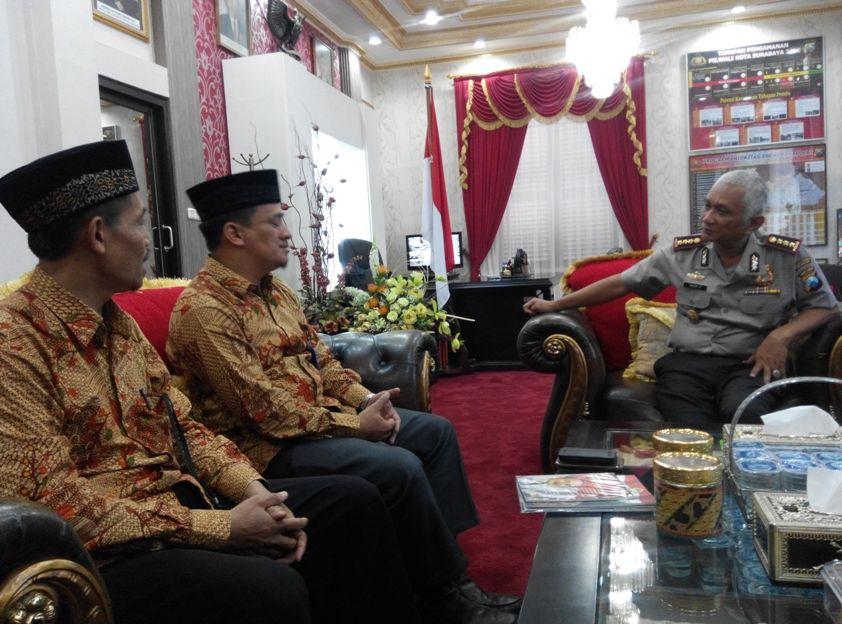 Audiensi dg Kapolrestabes Surabaya 030216