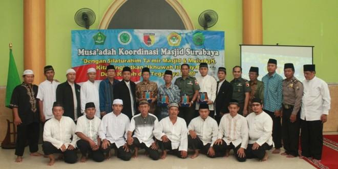 LDII Jadi Tuan Rumah Musa'adah dan Silaturahim Takmir Masjid Se-Surabaya