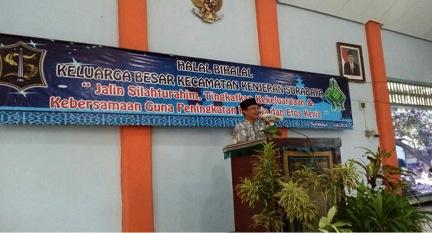 Halal Bihalal Kecamatan Kenjeran, Jalin Silaturahim Warga