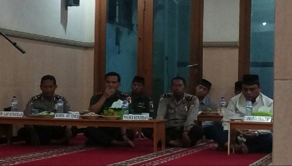 Tokoh masyarakat yang ikut hadir dalam syukuran Amri Perdana