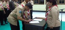 Kwarcab Lantik Pengurus Sakocab SPN Kota Surabaya