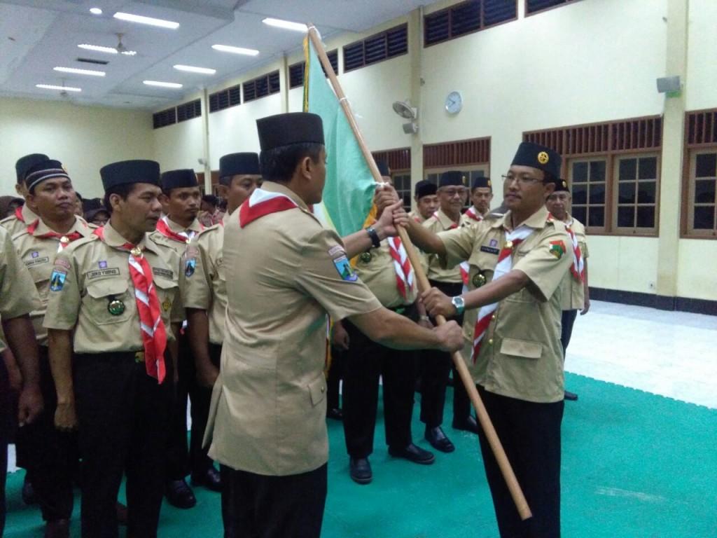 Prosesi Pelantikan Sakocab Kota Surabaya