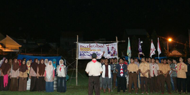 Persami Sakocab SPN Surabaya Sosialisasikan Tentang Bahaya Narkoba