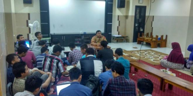 Musyawarah Besar XVI Remaja Masjid Luhur Al Ikhlas Kelurahann Medokan Semampir Surabaya, Kamis (29/12).