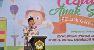 PC LDII Gayungan Adakan Festival Anak Sholeh 2017