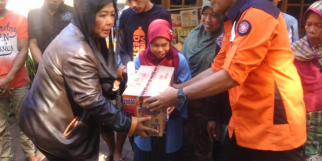 Sako SPN dan Kwarcab Surabaya Bantu Korban Longsor Ponorogo