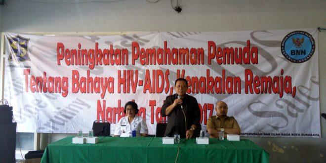 Dispora Surabaya Gandeng BNN Sosialisasikan Bahaya Narkoba