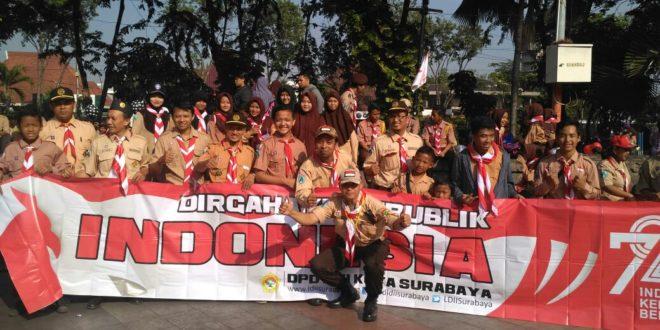 Sakocab SPN Kota Surabaya Hadiri Peringatan HUT ke-56 Gerakan Pramuka