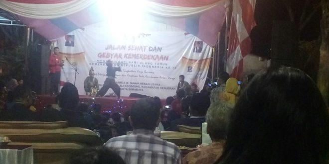 Gebyar Kemerdekaan, Puncak Peringatan HUT RI ke-72 di Tanah Merah